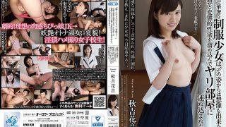 """APKH-038 """"It's Nice To Be Playful While Shooting …"""" Akiyoshi Hanano"""