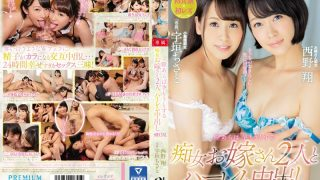 PRED-027 Two Sluts Trying To Get Along With Kaaru And Harlem Cum Inside SPECIAL