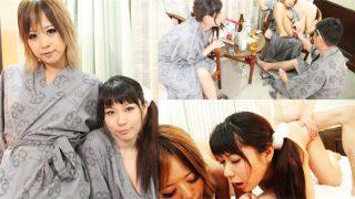 Tokyo Hot th101-090-111243 東京熱 Wキャスト <4Pプライベート乱交編> 秋川みなみ