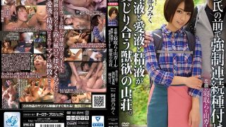 APNS-074 Forced Continuous Seeding In Front Of A Tragic Lost Mountain Girl Boyfriend.The Mountain Lodge Of Animal Desires Where Saliva, Love Juice And Semen Intertwine. Nobuyuki Abe