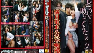 "AP-582 ""Why … I Will Not Help …! What? ""Crowded Train Openly Molested – A Woman Who Is Unlikely To Be Helped By Anyone But Has Been Daunted But Desperately Can Withstand Even If It Is Inserted As It Is …"