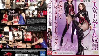QRDA-113 Two Queens Anal Guy -Foreign Object Insertion Double Fist…