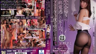 ADN-260 The Day I Spent The Night At A Love Hotel With A Female Boss Wh…