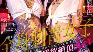 DVDMS-600 Infiltrate Lust Cum SEX That TATTOO Girl Bar Rhea Whole Body…